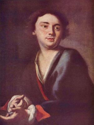 Петер Иоганн Брандль. Портрет молодого человека