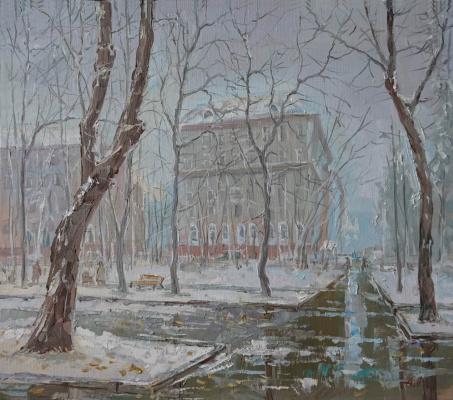Alexander Panyukov. Novopeschanaya street