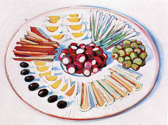 Wayne Thibaut. A plate of appetizer