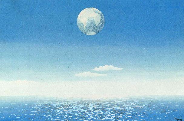 René Magritte. The sky