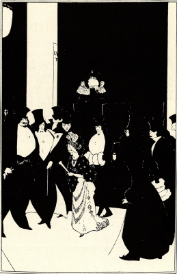 Aubrey Beardsley. Escort Lady Gold