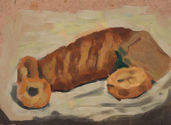 Alexander Isakov. Sketches of bread (3 pcs.)