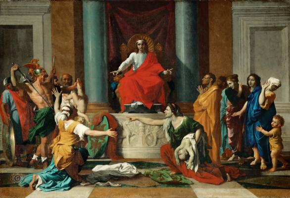 Nicolas Poussin. The Judgement Of Solomon