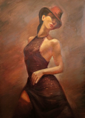 Anastasia Arsenova. Tango in the rain