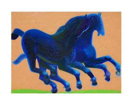 Sergey Konstantinov. Horses