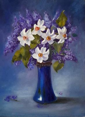 Victoria Fedorovna Humanenko. Spring fragrance