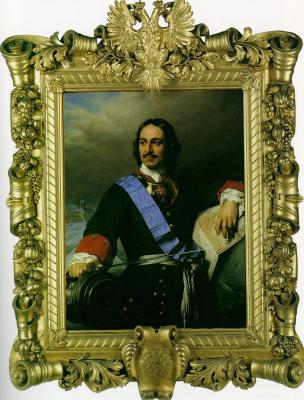 Поль Деларош. Петр Великий