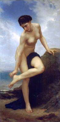 William-Adolphe Bouguereau. After swimming