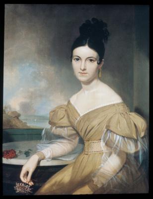 Asher Brown Durand. Mrs winfield scott