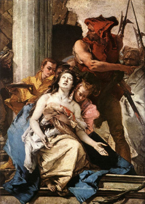Джованни Баттиста Тьеполо. Martyrdom of Saint Agatha