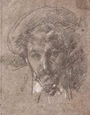 James Abbot McNeill Whistler. Self-portrait