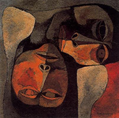 Освальдо Гуаясамин. Портрет 29
