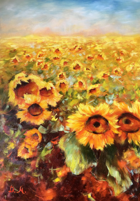 Диана Владимировна Маливани. Sunflowers