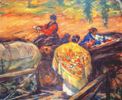 Leonid Osipovich Pasternak. The suburbs