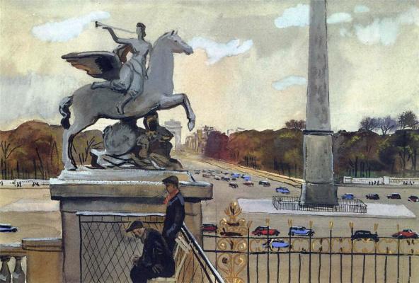 Alexander Alexandrovich Deineka. Paris. Concorde