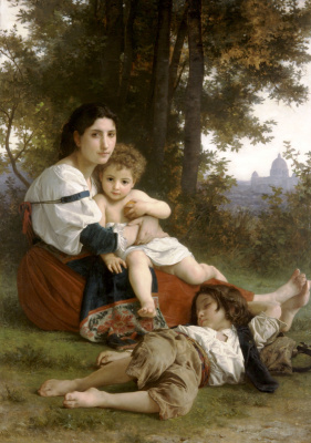 William-Adolphe Bouguereau. Stay