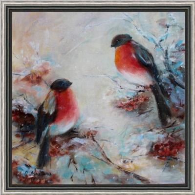 Olesya Alexandrovna Lopatin. Bullfinches