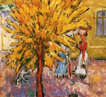 Михаил Федорович Ларионов. Дерево
