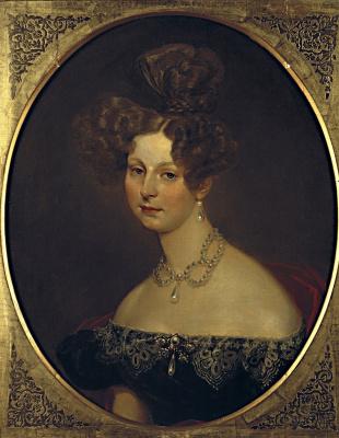 Karl Pavlovich Bryullov. Portrait of Grand Duchess Elena Pavlovna