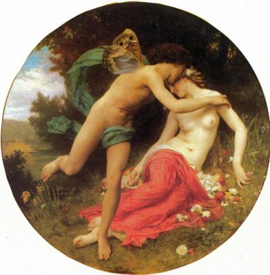 William-Adolphe Bouguereau. Flora and Zephyr