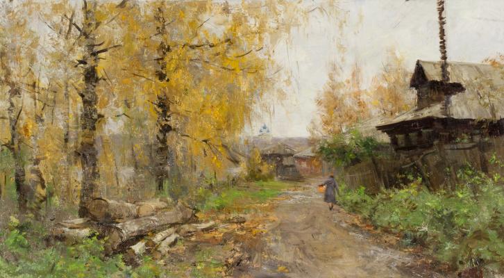 Alexander Evgenievich Kosnichev. Street in Tutaev