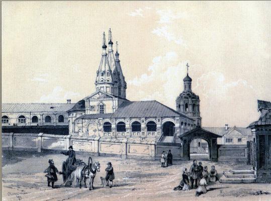 Edward (Edward) Petrovich Turnerelli. Monastery of St. John the Baptist in Kazan