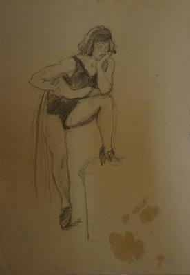 Alexandra Antonovna Gladun. Woman figure