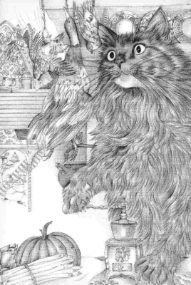 Адриенн Сегур. Как коты начали мурлыкать