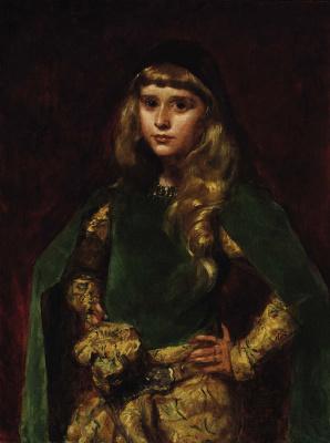 Каролюс-Дюран. Натали Барни в возрасте десяти лет