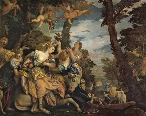 Paolo Veronese. Abduction of Europe