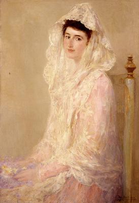 Хосе Бенльуре-и-Хиль. Портрет Марии Ортис