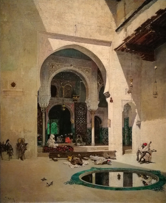 Mariano Fortuni-i-Carbo. The Tribunal Of The Alhambra