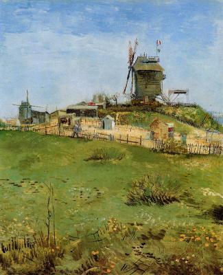 Винсент Ван Гог. Мулен де ла Галетт