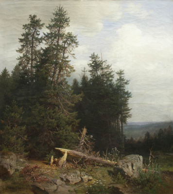 Ivan Ivanovich Shishkin. On the edge of the forest