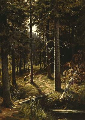 Ivan Ivanovich Shishkin. Forest landscape