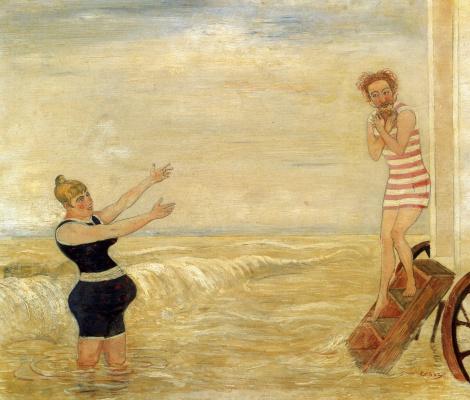 James Ensor. The Call of the Siren