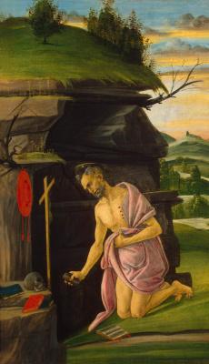 Сандро Боттичелли. Святой Иероним