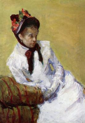 Mary Cassatt. Portrait of the artist