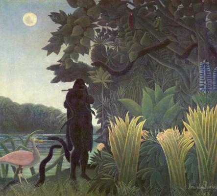 Henri Rousseau. The snake-Charmer