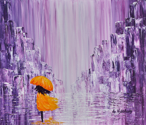 Leda Vysotsky. Rain in the Lilac City