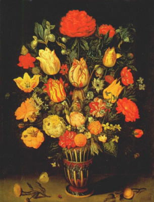 Амброзиус Босхарт Старший. Натюрморт с цветами