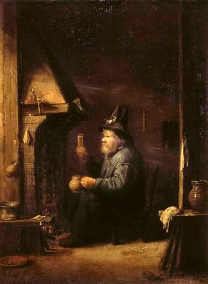 Йос ван Красбек. Пьяница