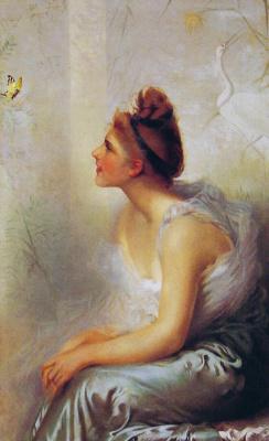 Витторио Коркос. Красотка и бабочка