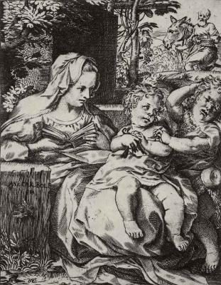 Annibale Carracci. Madonna della Rondinella