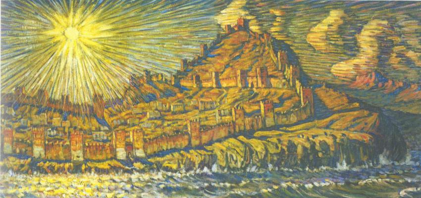 Konstantin Fedorovich Bogaevsky. Genoese fortress
