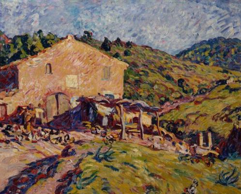 Луи Вальта. Ферма