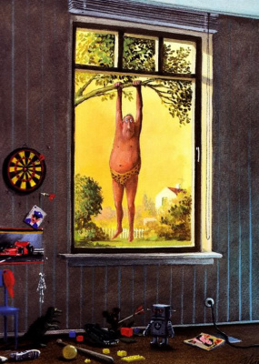 Gerhard Gluck. Jean Klodt L. has made every effort to divert children away from the TV