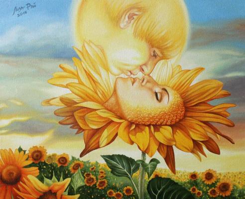 Лиза Рэй. Поцелуй утреннего Солнца