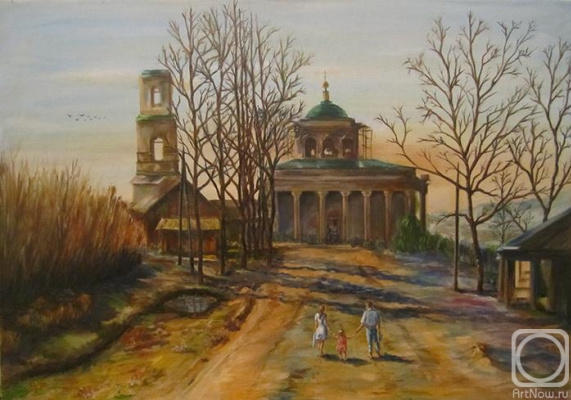 Aram Manucharyan. The road to the temple
