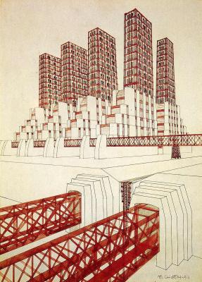 Марио Чиаттон. Многоэтажки